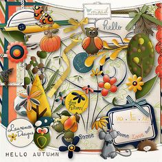 Hello Autumn [LDhelloautumn] - €3.80 : My Scrap Art Digital, Passion for Digital Scrapbooking