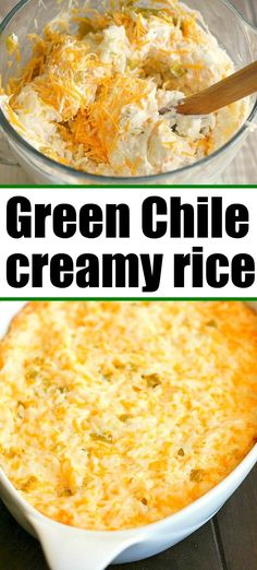 Mexican food recipes 282882420332899646 - Green Chile Rice is the best creamy cream cheese side dish you'll ever make! Source by thetypicalmom Taco Side Dishes, Mexican Side Dishes, Best Side Dishes, Rice Dishes, Vegetable Side Dishes, Food Dishes, Side Dish For Tacos, Vegetable Meals, Low Carb Taco