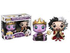 Disney Ursula With Cruella De Vil (2-pack)