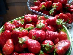 First strawberries of the year :) May '14