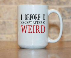 good morning to my favourite weirdos! Grammar Mug, Grammar Quotes, Grammar Humor, Funny Quotes, Good Morning Funny, Morning Humor, My Coffee, Coffee Mugs, Funny Mugs