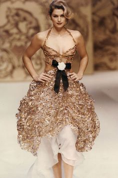 Cindy Crawford Chanel couture