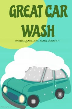 Free Editable And Printable Publisher Car Wash Flyer Template