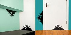 Creative Stickers To Live Up Your Room's Wall