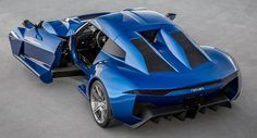 Rezvani's New $200,000 Beast Alpha Has Funky SideWinder Doors And A Lotus Chassis