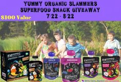 Daily Woman: Organic #Slammers Snacks {GIVEAWAY} ends 8/22