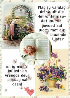Good Morning Rainy Day, Good Morning Cards, Good Morning Wishes, Good Morning Quotes, Birthday Messages, Birthday Wishes, Lekker Dag, Evening Greetings, Afrikaanse Quotes