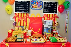 McDonald's Introduces Birthday Party Themes and We're Lovin' It! | #Themeparty #kidsbirthday #party #mlovingit #kidsbirthdaypartytheme #enjoy #birthdayparty Mcdonalds Birthday Party, Birthday Party Places, Birthday Party Venues, Safari Birthday Party, 4th Birthday Parties, 10th Birthday, Happy Birthday, Mc Donald Birthday, Mc Donald Party