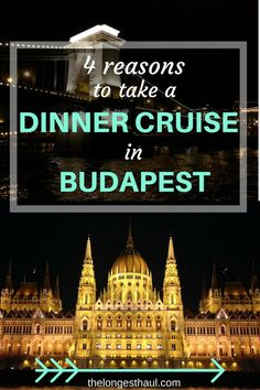 Why taking a dinner cruise in Budapest is the best way to see the sparkling Danube by night (and escape the winter chill! Slow Travel, Long Haul, Budapest, Trip Planning, Digital Marketing, Chill, Cruise, Germany, Travelling Europe