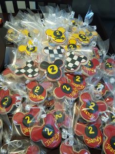 Mickey and the roadster racer. Joandy's party Made by: Alexandra toscano