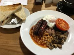 Chase Farm Cafe - A very good Full English.