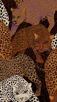 Iphone Background Wallpaper, Print Wallpaper, Pastel Wallpaper, Animal Wallpaper, Illustrations, Illustration Art, Motifs Textiles, Whatsapp Wallpaper, Tiger Art