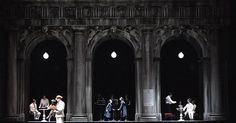 Death in Venice. Tea - Death in Venice. Teatro La Fenice. Scenic design by Pier Luigi Pizzi. 2008 --- #Theaterkompass #Theater #Theatre #Schauspiel #Tanztheater #Ballett #Oper #Musiktheater #Bühnenbau #Bühnenbild #Scénographie #Bühne #Stage #Set