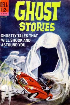 Ghost Stories n°5, March 1964.