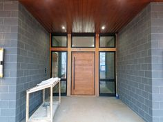 Design is in the Details: Modern Entryway