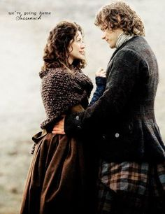 Jamie and Claire in Both sides now.