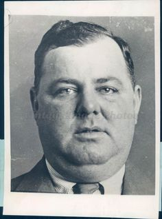 1929 Photo Murder Victim Thomas Fatty Walsh Bodyguard Arnold Rothstein Crime