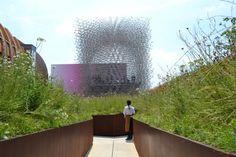 Nadia Mikushova. An inside view to the United Kingdom pavilion of the EXPO Milano 2015.