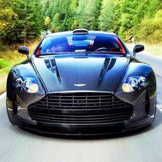 Aston Martin carbon look
