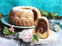 Kakaós-vaníliás kuglóf recept képpel. Elkészítés és hozzávalók leírása, 1 órás, 6 főre, Egyszerű, Vegetáriánus