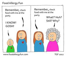 Catchy opening paragraph about food allergies?