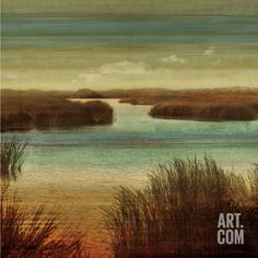 On The Water I Art Print by John Seba at Art.com