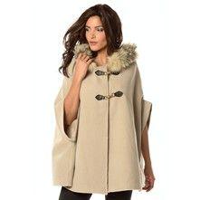 Coats & Jackets Nadege - Abrigo capa - gris topo