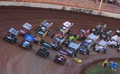 You Wanted The Best You Got Them 4 Abreast. Often Imitated Never Duplicated. The Greatest Show On Dirt, The World of Outlaws.  Wish we could go this year...