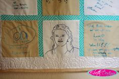 Turn pictures into sketches for hand embroidery.