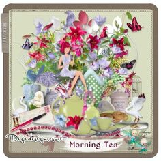 Our digital scrapbooking tutorials help you to create your perfect digital scrapbook and our digital scrapbooking store provides you with all the necessary tools Digital Scrapbooking, Kit, Table Decorations, Learning, Artist, Studio, Design, Study