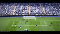 FIFA 15 Kick Off 0-1 REA V CHE, 2nd Half