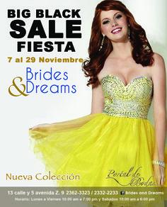 Promociones de locura que solo noviembre te trae!!! te esperamos en Brides and Dreams