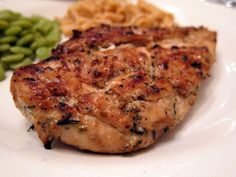 Rosemary Ranch Chicken - chicken marinated in Ranch dressing, olive oil and rosemary - grill up for THE BEST chicken you'll ever eat! We make this at least once a week. Double up the recipe for leftovers! It is to-die-for delicious! I Love Food, Good Food, Yummy Food, Awesome Food, Yummy Eats, Grilling Recipes, Cooking Recipes, Healthy Recipes, Healthy Foods