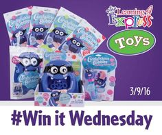 *Facebook Giveaway* Learning Express Toys gives away a different children's toy every Wednesday. You may have to scroll down through their posts to find the giveaway. End Date: Unknown Eligibility: Open to the United States It's #WinItWednesday and it's ... It's #WinItWednesday and it's #NationalBubbleWeek! This week, one lucky Facebook fan will win a Candylicious... #contest #facebook #freebie