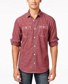 INC International Concepts Men s Long Sleeve Stripe Shirt 16747521f