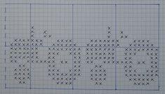 Igjen har jeg sittet å sett etter andre mønster man kan bruke i Mariusmønstert istedenfor kryssene og her har jeg da funnet frem tre forskj...