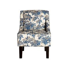 Hudson Swoop Arm Chair ($140) ❤ liked on Polyvore featuring home, furniture, chairs, accent chairs, patterned chairs, contemporary accent chairs, modern classic furniture, patterned armchair and dark brown furniture