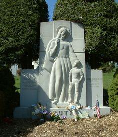"George Herman ""Babe"" Ruth.  Gate of Heaven, Hawthorne, Westchester, New York"
