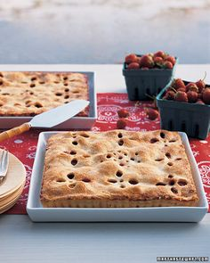 "Strawberry ""Bandanna"" Tart - Martha Stewart Recipes"