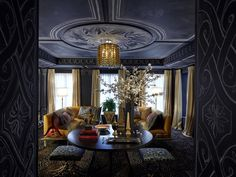 Interior design by Garrow Kedigian for the 2016 Kips Bay Decorator Show House, via @sarahsarna.