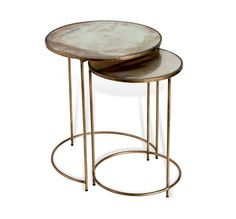 Macie Round Nesting Tables design by Interlude Home