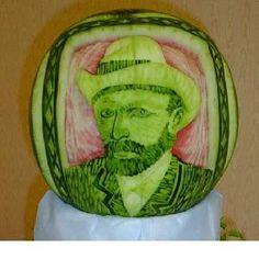 Van Gogh food art