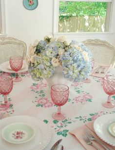 Mothers Day Brunch Table - Such Pretty Things Blog