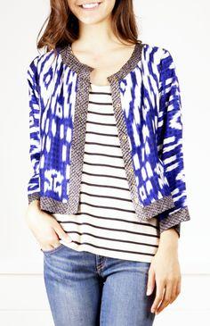 Shop for Dries Van Noten Jacket from RoseGarden on Shop Hers Batik Kebaya, Batik Dress, Passion For Fashion, Love Fashion, Womens Fashion, Fashion Design, Mode Style, Style Me, Mode Wax