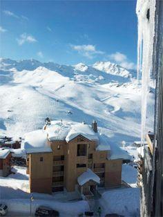 Ski Val Thorens: Spitzen Aussicht auf die Skipisten !