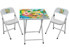 Mesinha Sapeca Com 02 Cadeiras - Metalmix com as melhores condições você encontra no Magazine Luizadoeduardo. Confira!