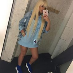 613 Blonde Lace Front Human Hair Wigs With Bang silky straight can be dyed lishahair Rose Blonde Hair, Blonde Hair Black Girls, Blonde Bangs, Wig Styles, Long Hair Styles, Chinese Bangs, Blonde Weave, Divas, Wigs With Bangs