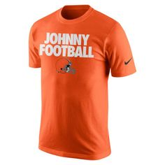 Johnny Manziel Johnny Football Cleveland Browns NWT Nike t-shirt NFL Dawg Pound #JohnnyManziel #ClevelandBrowns #JohnnyFootball #DawgPound #Nike #NFL #NFLTshirts #NikeTshirts #Tshirts #Browns #MarvelousMarvs