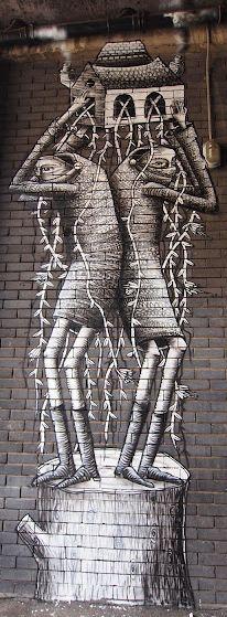 Phlegm.. . #streetart