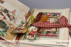 Tati, Mixed Media Album, A Christmas Carol, Product by Graphic 45, Photo 10